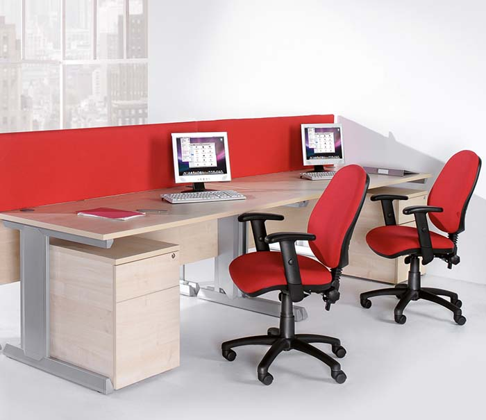 office furniture desks integrated cable management 4