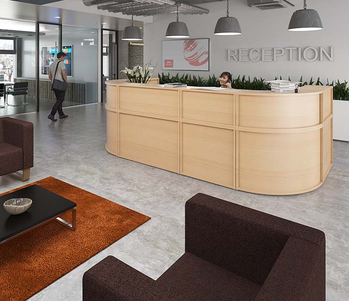 office furniture reception desking